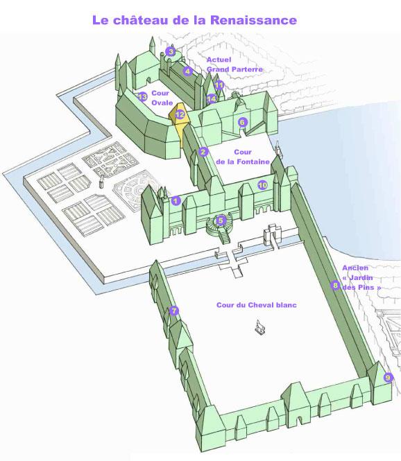 Plan Ville Fontainebleau